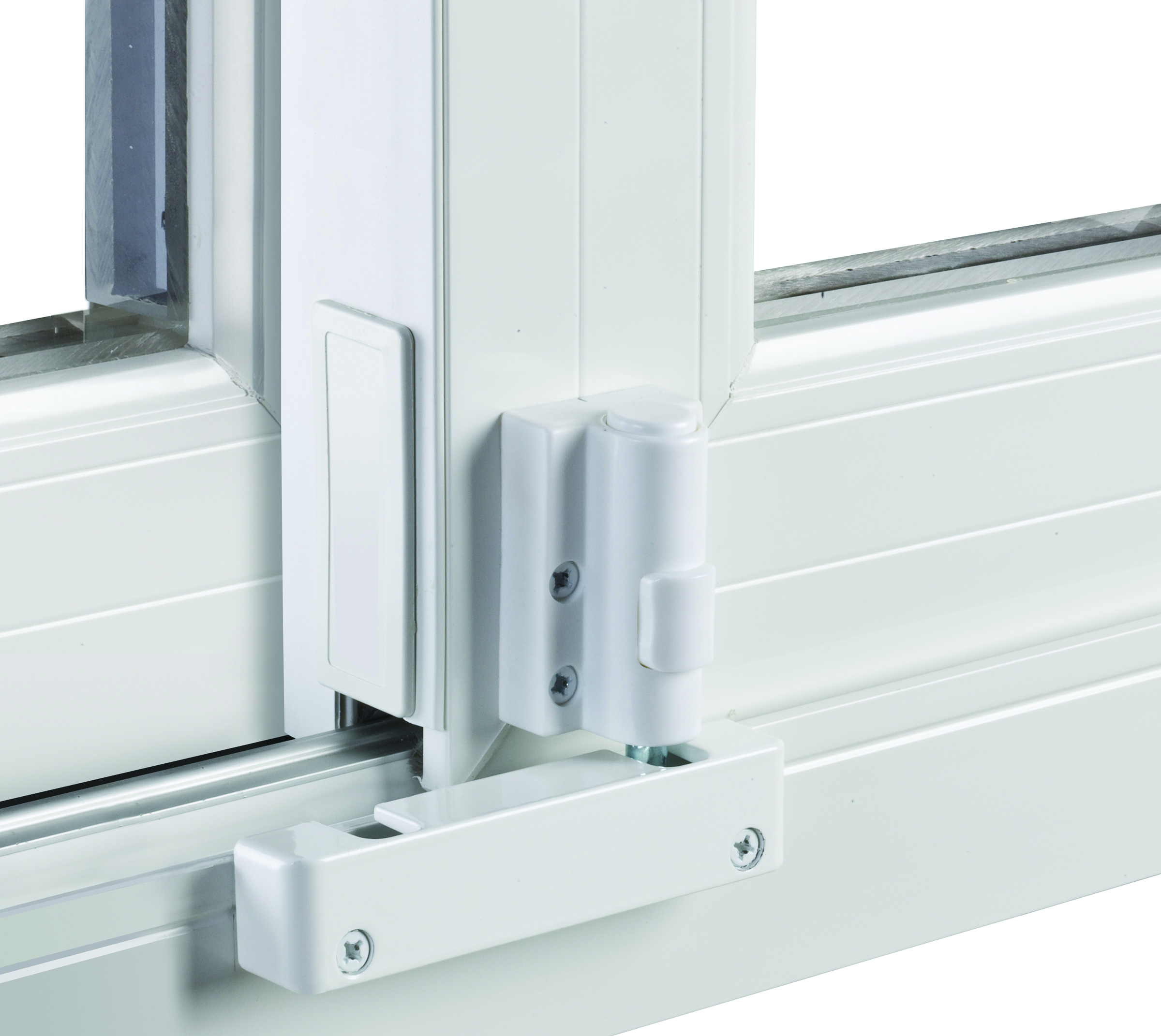 High Quality Safety Latches On Windows And Doors, Like This Patio Door Foot Lock, Is  Another Way To Safeguard Children And Pets.