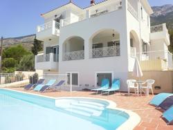 Villa Rhakotis in Kefalonia, Greece.