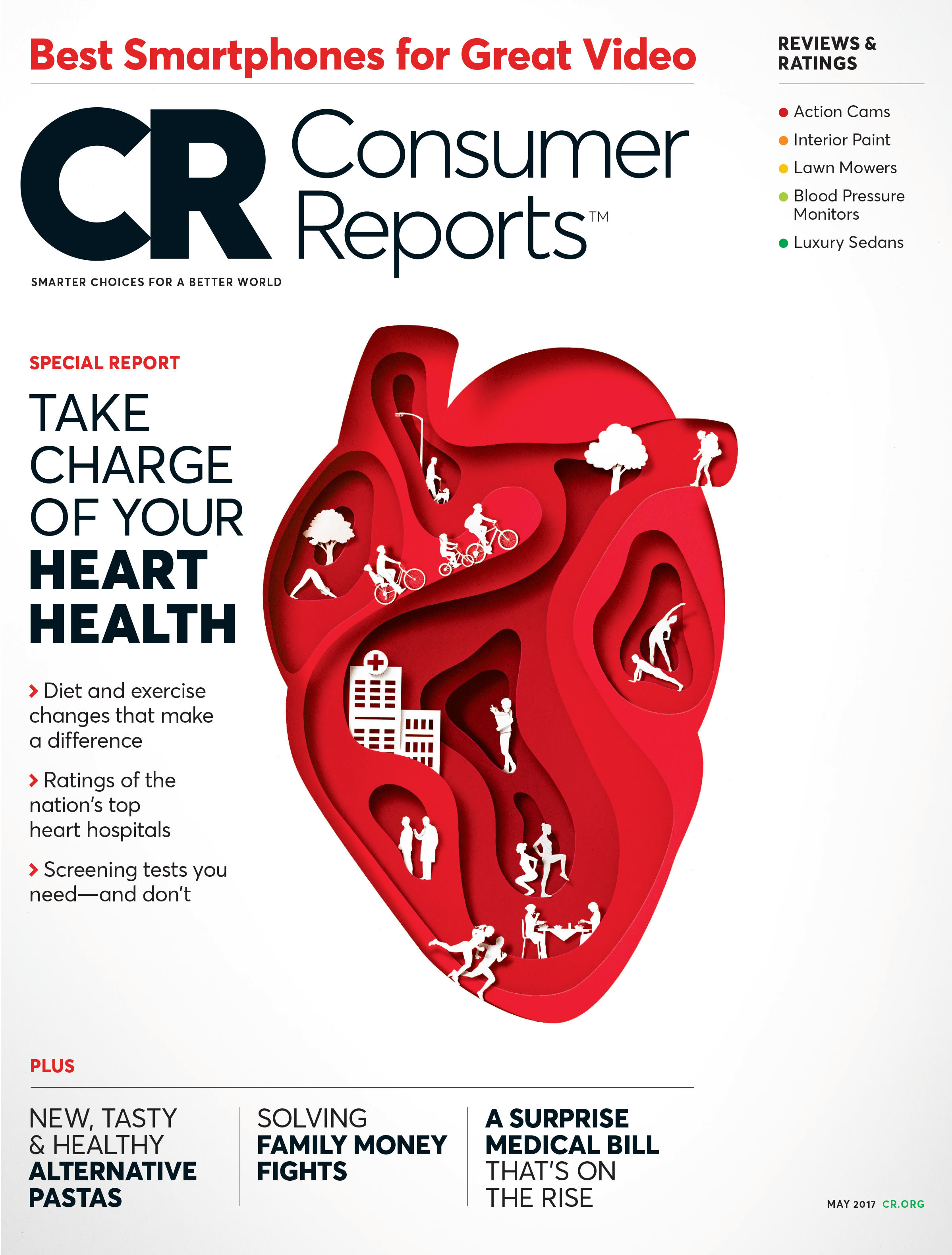Consumer Reports Healthy Heart Report Explains How To