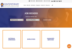 Contemporary Staffing Launches New Site
