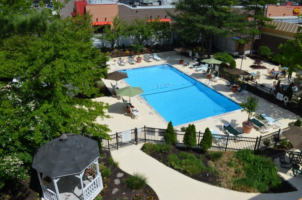 The holiday inn westbury long island is hosting a for Garden pool book