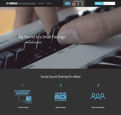 Soundmondo Social Sound Sharing by Yamaha