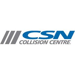 a picture of a CSN Collision Centres logo
