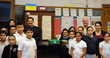 Tripp Lite Donates Charging Carts to Burroughs Elementary School