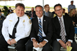Timothy Reardon, Pasco County Fire Chief, Mike Moore, Chair of the Pasco County Board of Commissioners and Mike Schultz