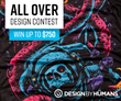 Design By Humans Looks to Expand their All Over Collection with Design Contest