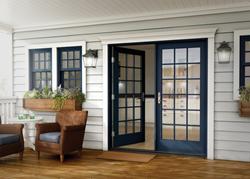 new Essence Series wood swing door