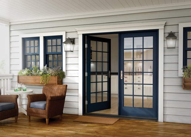 Milgard Essence Series In Swing and Out Swing French Patio