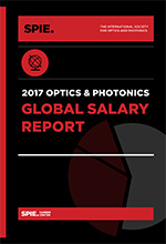 Fair pay perspectives differ but job satisfaction is still high in optics and photonics, says the recently published 2017 SPIE Optics and Photonics Global Salary Report.