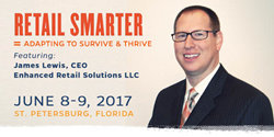 Enhanced Retail Solutions CEO & Founder Jim Lewis to lead session at 2017 Retail Smarter Conference