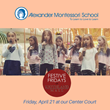 "The Alexander Show Choir of Montessori School takes over ""Festive Fridays"" to show off their talented voices."