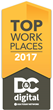 D4 Celebrating Recognition as a Top Workplace in Rochester
