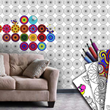 Coloring Wallpaper comes in 80 different styles