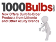 1000Bulbs.com Now Offers Built-To-Order Products from Lithonia and Other Acuity Brands