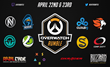 Rivalcade Launches Overwatch Rumble eSports Tournament Series on April 22-23 with 8 Top Pro teams and $10,000 Prize Pool
