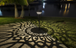 VOLT® Lighting Launches the First-of-its-Kind Estate-Style Path Light, the ShadowMaster™, a Light that Projects an Elegant Pattern of Light and Shadow.