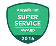 Home One Home Improvement Services Is Honored To Receive The Angie's List 2016 Super Service Award