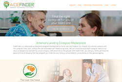 Find home care services near you with AideFinder
