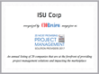 ISU Corp On The Rise: Named Most Promising Project Management Solution Providers