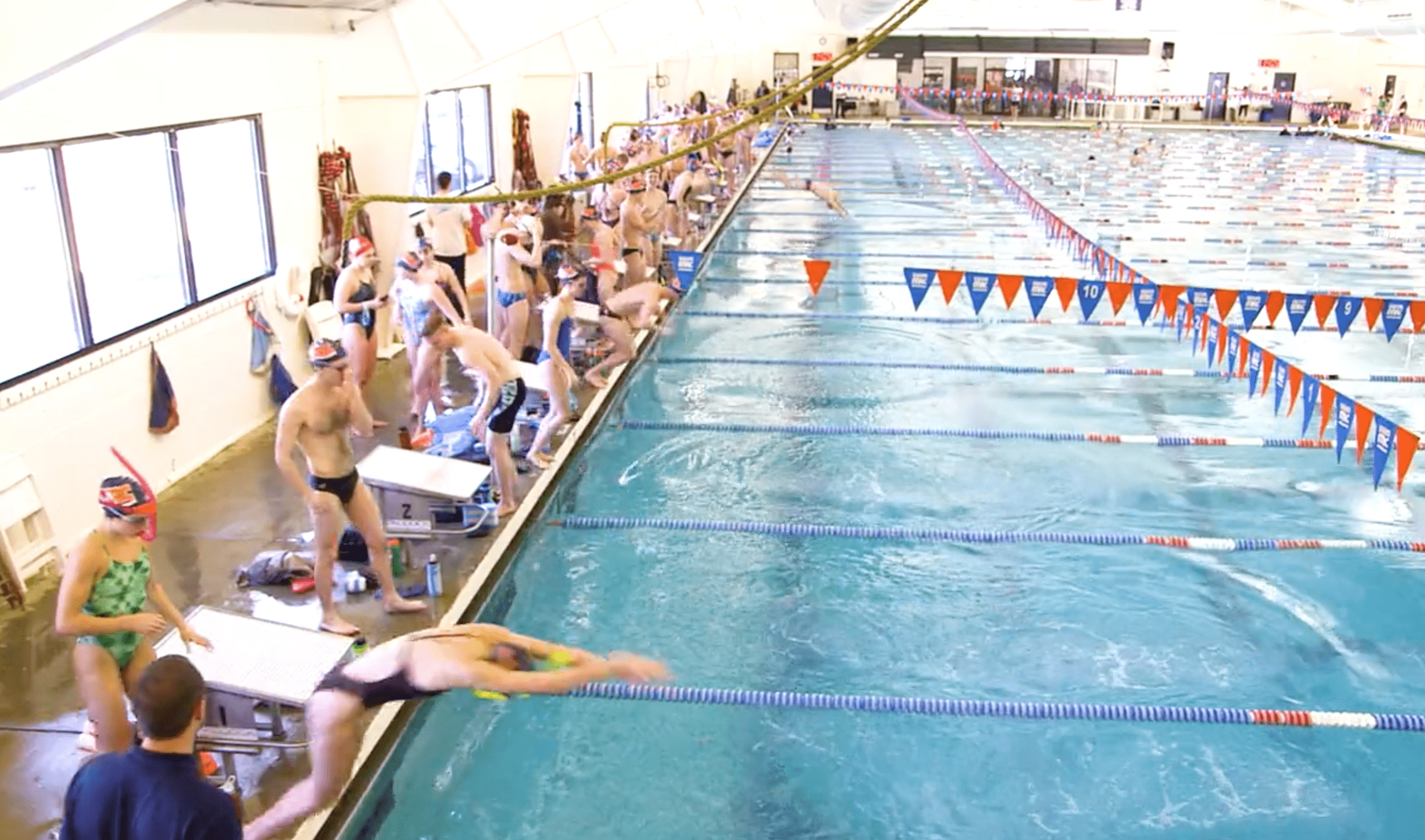 Premier Competitive Swimming Program Adopts Healthier Low Chlorine Pool System
