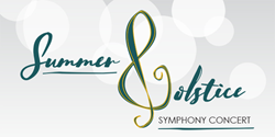 Summer Solstice Symphony Concert taking place on Wednesday, June 21, 2017