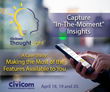 Civicom Webinar on ThoughtLight™ Mobile Qual App: Making the Most of the Research Features Available to You