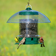 Good design: The K-Feeder Super Carousel has an overhead baffle that protects seed from invading squirrels,