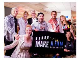 Group Shot For Make A Film Foundation's Film Short The Black Ghiandola