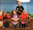 "An indoor fishing dock is a central part of ""Lake Life"" at the Children's Discovery Museum"