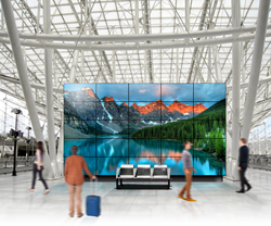 Video wall system is powered with Breeze cloud CMS