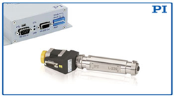 NEW High-Load Linear Actuator, L-239, shown with PI's Mercury Motion Controller