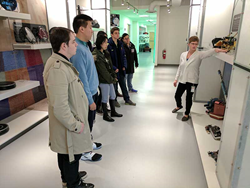 Lexington Christian Academy students visit iRobot Headquarters during career exploration trip