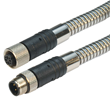 L-com Launches New Line of Premium Armored M12 Cable Assemblies