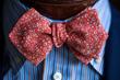 Faburiq, Edo Komon Flower Bow Tie