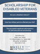 Phoenix Law Firm Announces Disabled Veteran Scholarship