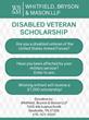 Nashville Law Firm Announces Disabled Veterans Scholarships
