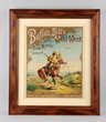 "Buffalo Bill's Wild West ""White Eagle"" poster, estimated at $8,000-15,000."