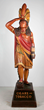 Wooden cigar store Indian, estimated at $40,000-80,000.