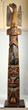 Native American totem pole, estimated at $10,000-20,000.