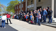 Over 60 motorcyclists from Ray Price Harley-Davidson & Triumph delivered gifts to youth at Masonic Home for Children in time for Easter.