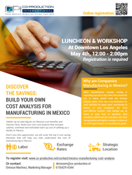 Discover the Savings: Build Your Own Cost Analysis for Manufacturing in Mexico