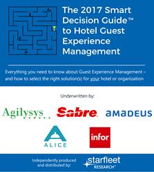 starfleet research; starfleet media; guest experience management, hotel property management, hospitality revenue management; hotel revenue management