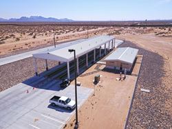 Santa Teresa Truck Inspection Station, Palomar Modular Buildings