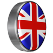 Continental Kit Tire cover by Boomerang with Union Jack Flag design