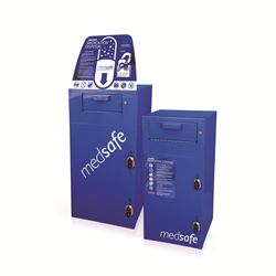 MedSafe Medication Disposal Collection Receptacles