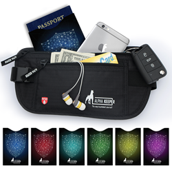RFID Money Belt