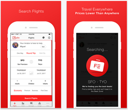 FlyEx travel peer to peer booking platform.