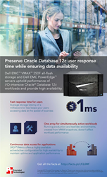 See how companies can offer fast response times for Oracle Database 12c applications and, in turn, provide a good user experience
