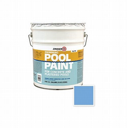 260542 5 Gal Zinsser Swimming Pool Paint, Blue