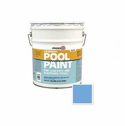260542 5 Gal Zinsser Swimming Pool Paint, Blue